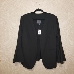The Limited open front flare sleeve Blazer